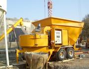 Б/У Мобильный бетонный завод В 15-1200 ( 20 м3/час).